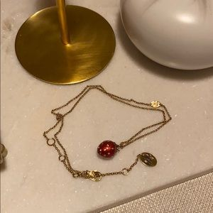 Juicy Couture Strawberry Necklace